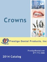 Crowns - Prestige Dental Products