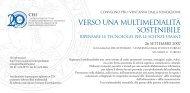 Programma del convegno (pdf) - CISI - Università degli Studi di Torino
