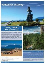 Vancouver Getaway - Destination Canada