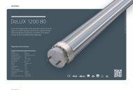 DeLUX 1200 80° - Lichtline