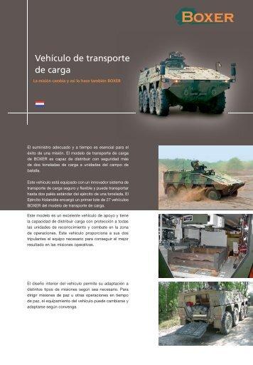 Información del vehículo de transporte de carga - artec-boxer.com