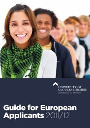Guide for European Applicants 2011/12 - Insight – University of ...