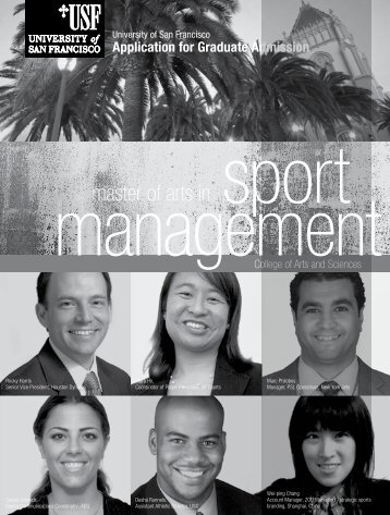 Sport Management - University of San Francisco
