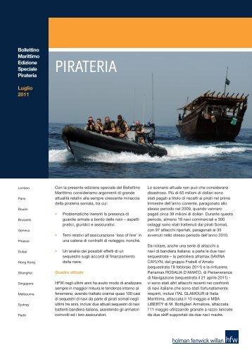 PIRATERIA - HFW