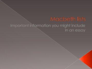 Macbeth lists.pdf - englishatnayland