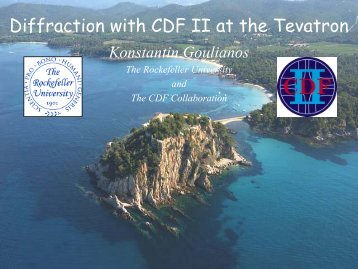 Diffraction with CDF II at the Tevatron