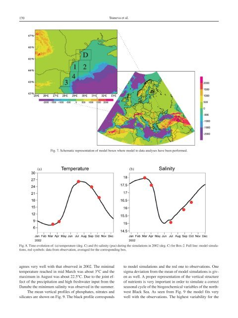 Seasonal and Interannual Variability of the North-Western Black Sea ...