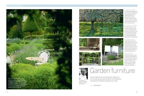 Garden Furniture Arne Maynard Garden Design