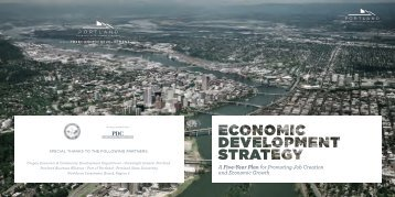 Brochure - Portland Economic Development Strategy