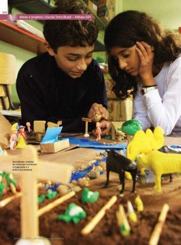 ideias e projetos   escola terra Brasil – Atibaia (sP)