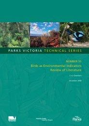 parks victoria technical series Birds as environmental indicators ...