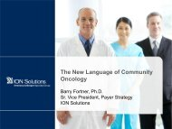 Download presentation - Association of Community Cancer Centers