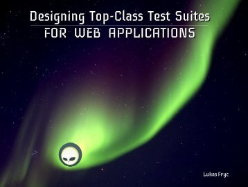Designing Top-Class Test Suites FOR WEB APPLICATIONS - IRIAN