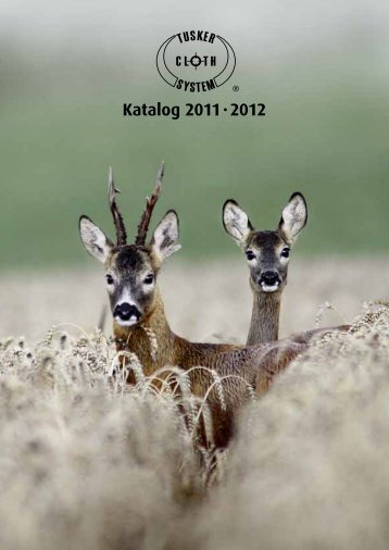 Katalog 2011 · 2012 - Tusker Cloth System