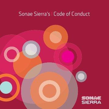 Code of Conduct - Sonae Sierra