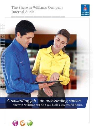Internal Audit Recruiting Brochure - Sherwin-Williams