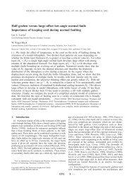 Half graben versus large-offset low-angle normal fault: Importance of ...