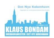 Det Nye København - Bondam, Klaus