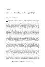 Danish Yearbook of Musicology 37 • 2009 / Dansk årbog ... - dym.dk