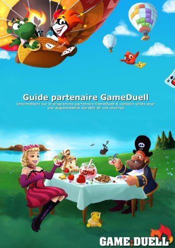 Guide partenaire GameDuell