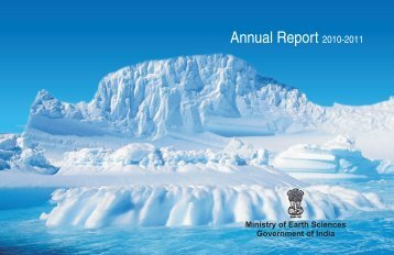 Annual Report 2010-2011 - Ministry Of Earth Sciences