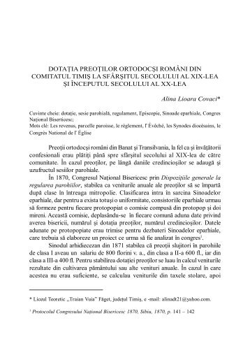 Alina Lioara Covaci - Banatica