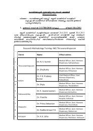 Research Methodology Training