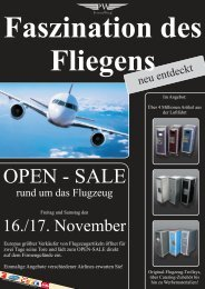 Faszination des Fliegens - Private Wing