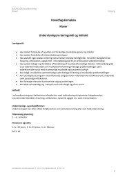Se hele studieordningen (Esbjerg)