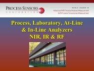 MCT-360 PSC Slide Show Presentation - Process Sensors Corp.