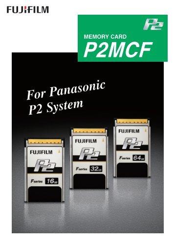 P2 Card - Fujifilm