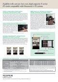 P2 Card - Fujifilm - Page 2