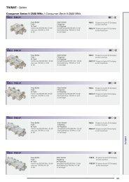 TV/SAT > Splitter Consumer Series 5-2500 MHz / Consumer ... - Wisat
