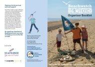 Beachwatch organisers booklet - Marine Conservation Society