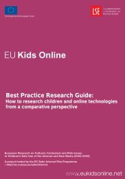 Best Practice Research Guide: How to research children and online ...