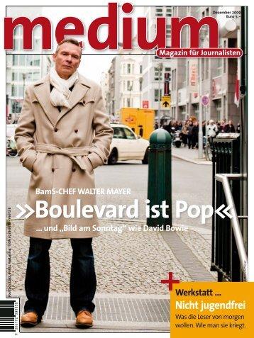 Boulevard ist Pop