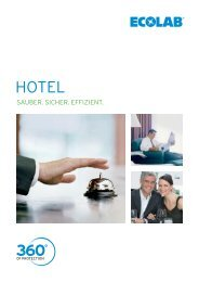 ECOLAB in Hotels - TOP REIN