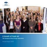 A Breath of Fresh Air – EWEA Annual Report 2009 - European ...