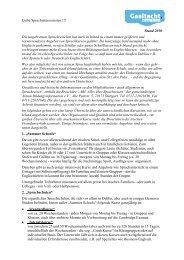 Liebe Sprachinteressierten !!! Stand 2010 Die ... - Irish-net