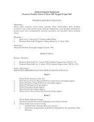 PERPRES_1960_8_DEWAN BAHAN MAKANAN.pdf - PTA Makassar