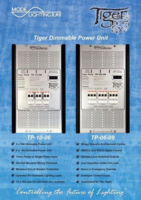 TP-10-06 & TP-06-09 Data Sheet