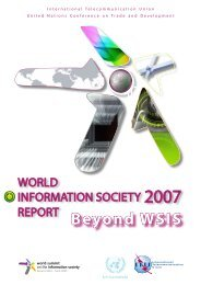 World Information Society Report 2007: Beyond WSIS