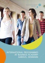 international programmes at business academy aarhus, denmark