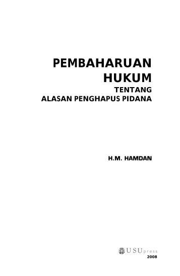PEMBAHARUAN HUKUM - USUpress - Universitas Sumatera Utara