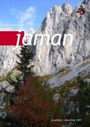 novembre - décembre 2007 www.cas-jaman.ch - Club Alpin Suisse ...