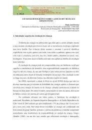 1- Introdução: aspectos da circulação de crianças A história das ...