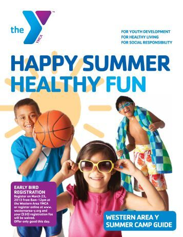 western area y summer Camp Guide - YMCA of Greater Pittsburgh