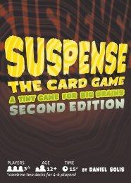 Suspense Rules - Second Edition