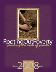 2008 Annual Report - Missouri Association for Community Action