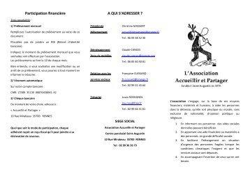 Voir la plaquette - Paroisse Saint Augustin